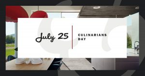 Celebrating the ultimate cooks kitchen on Culinarians Day