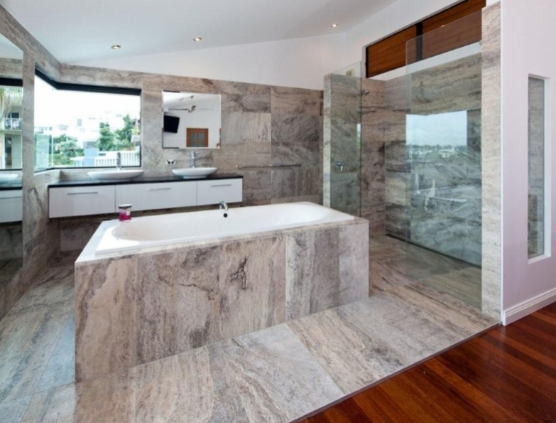 stone bathroom tiles