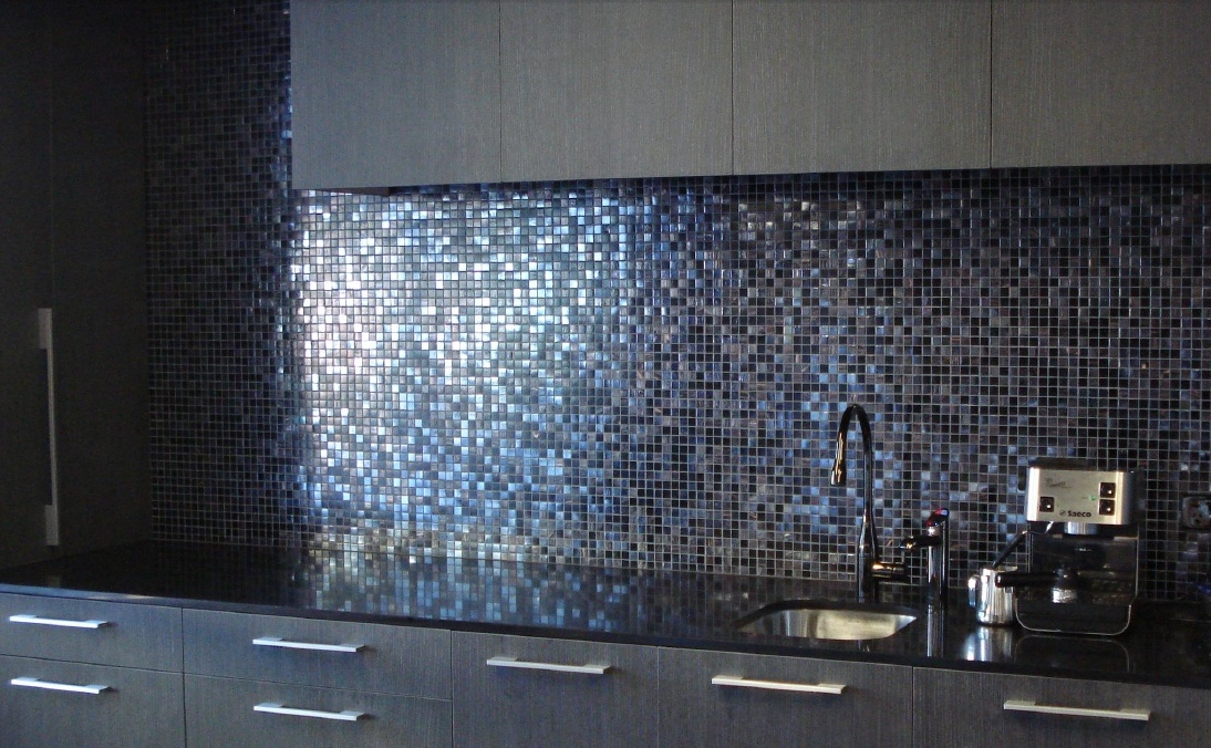Bisazza Iside Spashback Private Residence QLD