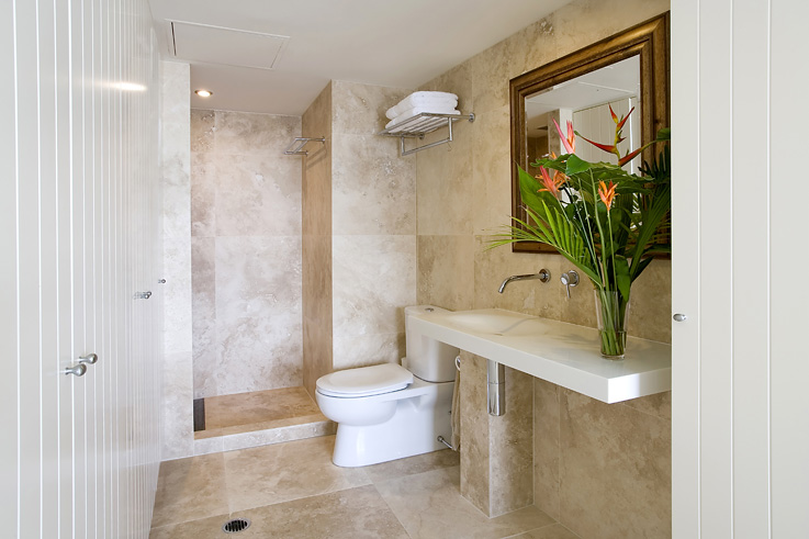Light Travertine Bathroom