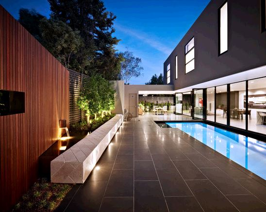 Bluestone Pool Area