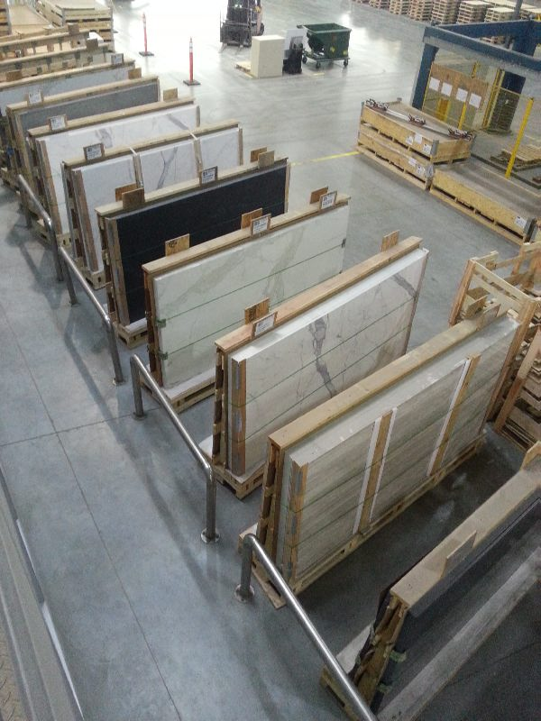 Large Porcelain Slabs Packing