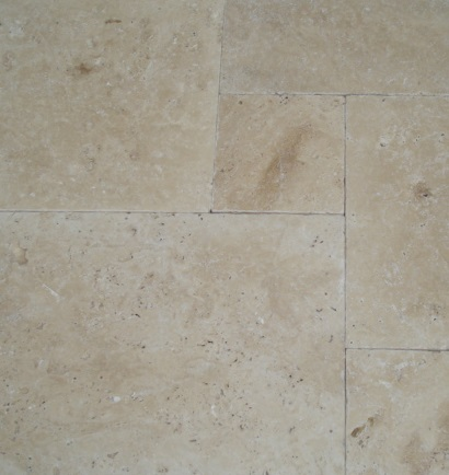 Classic Light Travertine Tumbled & Unfilled French
