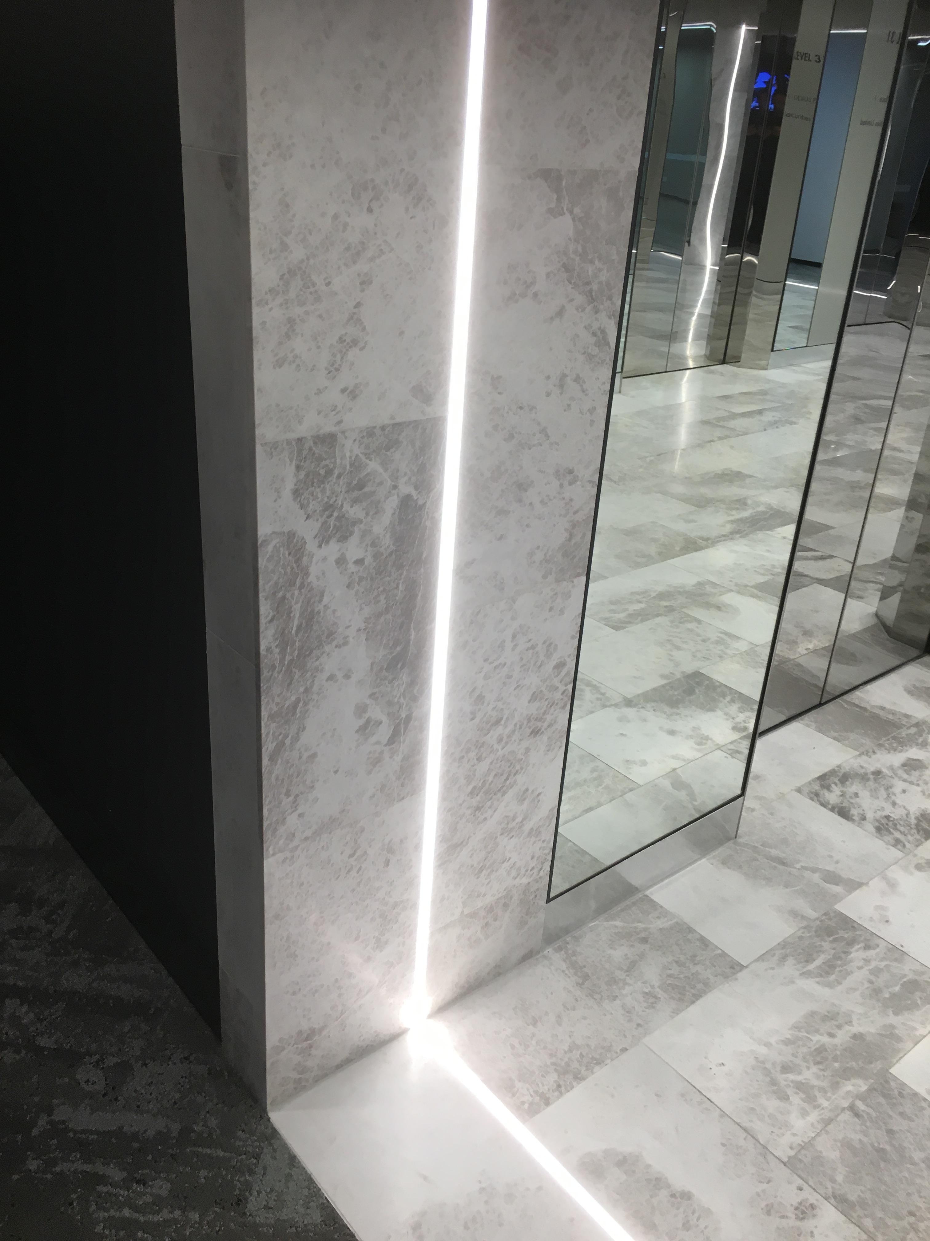 Arctic Grey Marble Foyer