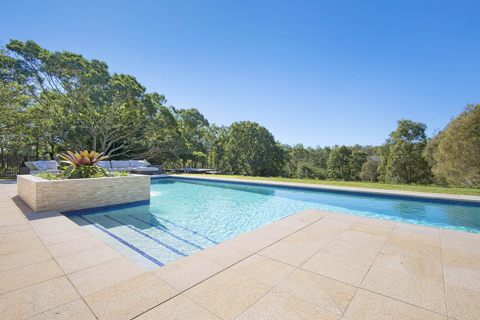 Almond Granite Pool