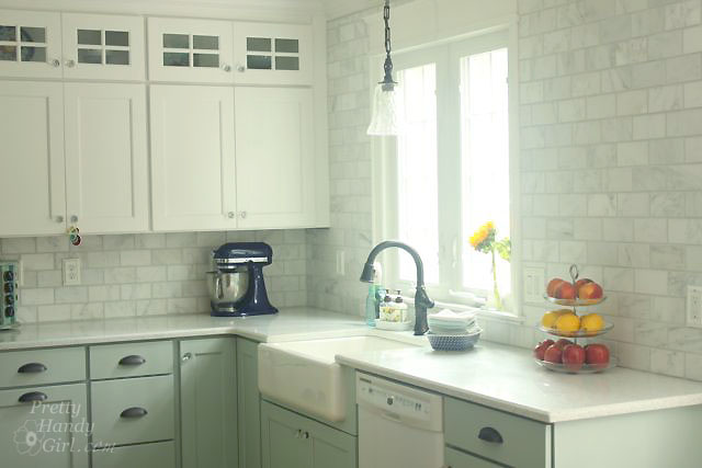 Carrara Subway Splashback