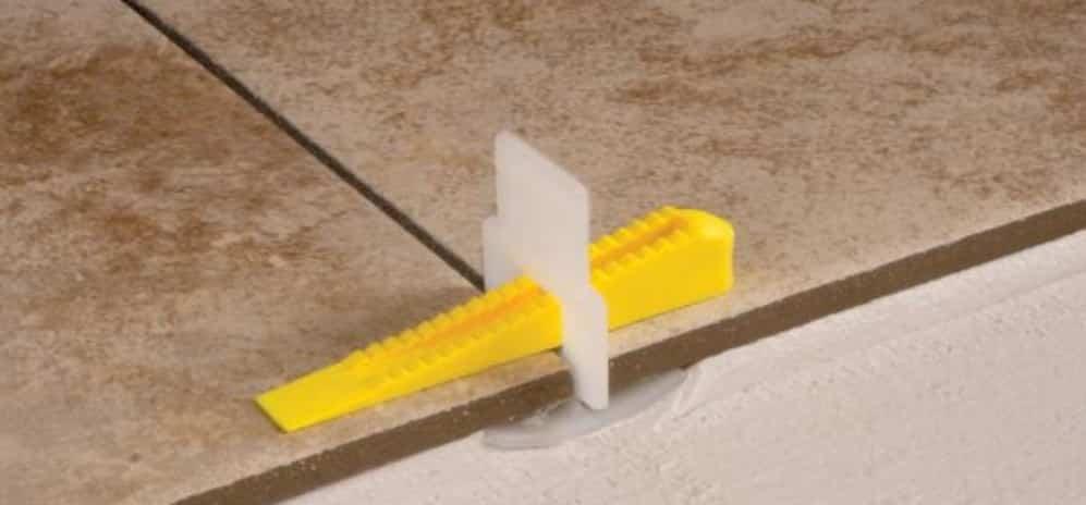 Tiling Hacks - Use a tile leveling system