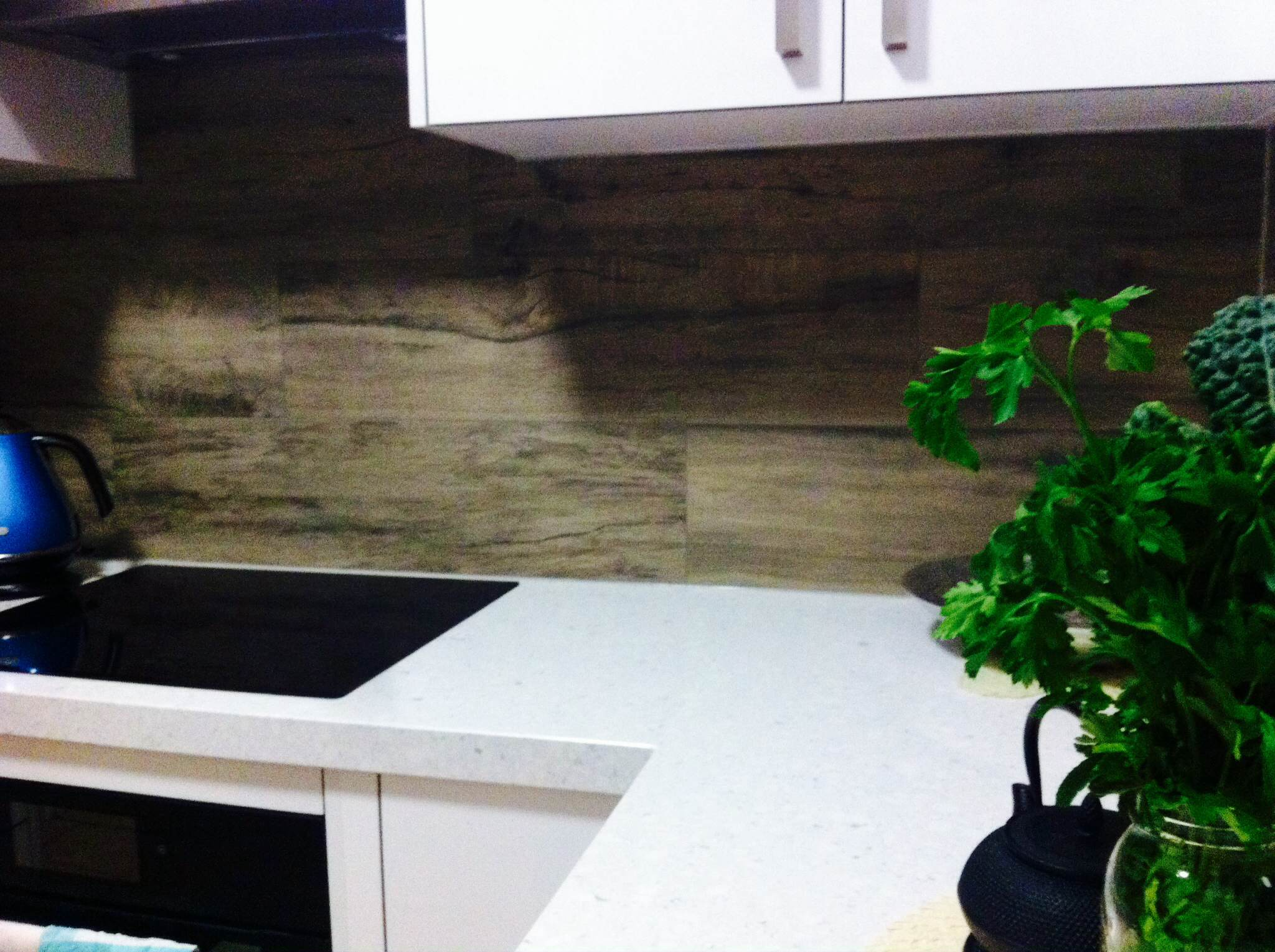 Woodtalk Grey Pepper Splash Back