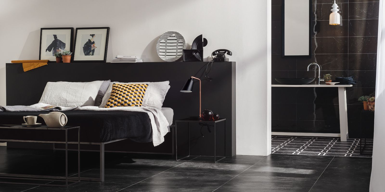 Genus Home Black Floor