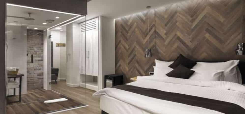 Greenwood Herringbone Tiles