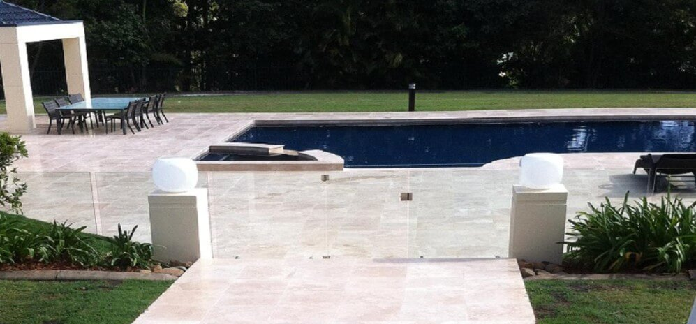 Light Travertine - Pool Surrounds