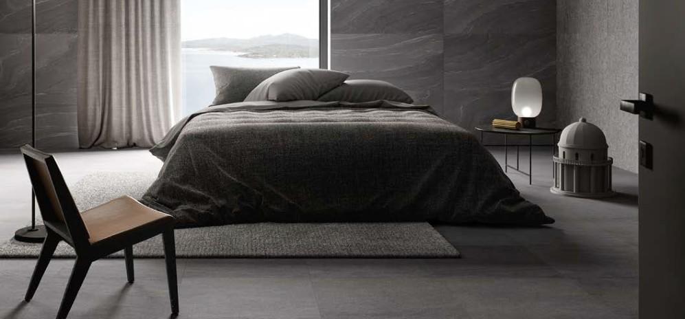 StoneTalk Minimal Dark Bedroom Tiles