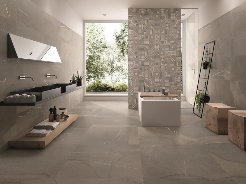 Piase Spazzolata Natural Bathroom