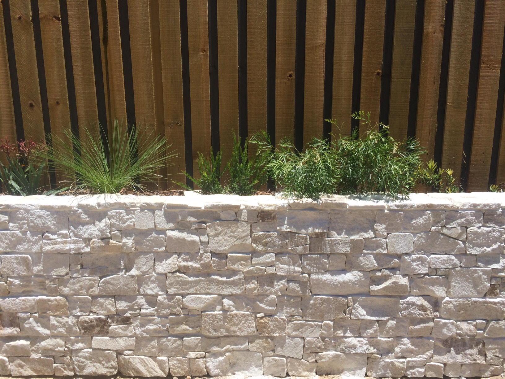 Thredbo Splitstone Retaining Wall