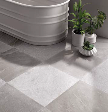 Tracce Grey Bathroom