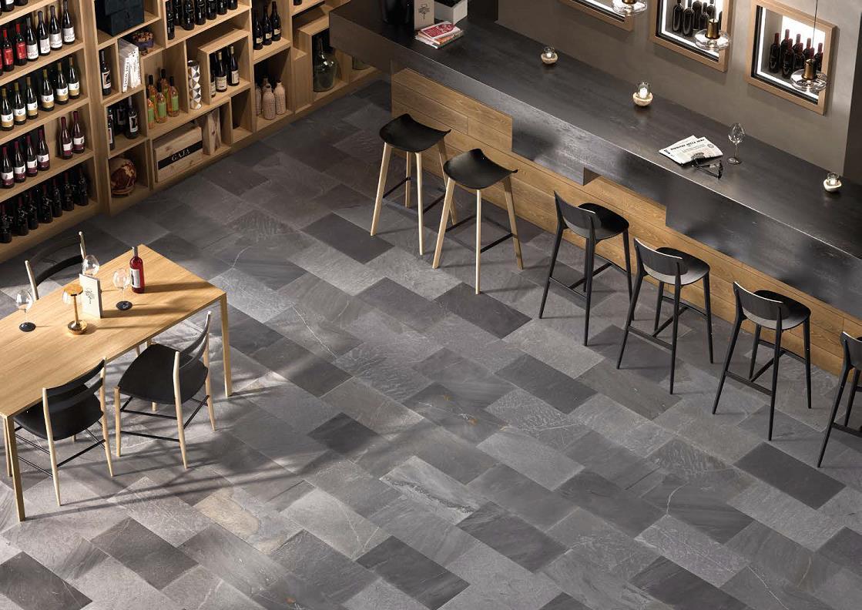 Tracce Dark Grey Restaurant
