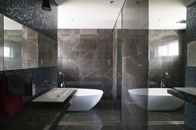 Pietra Grey Bathroom