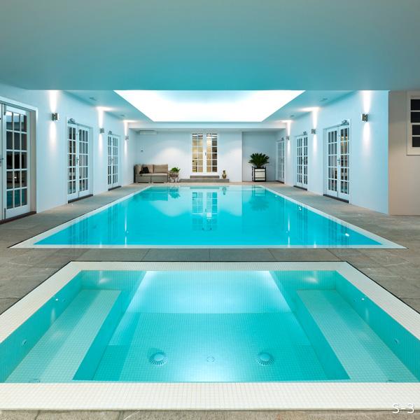 Bisazza Glass Swimming Pool